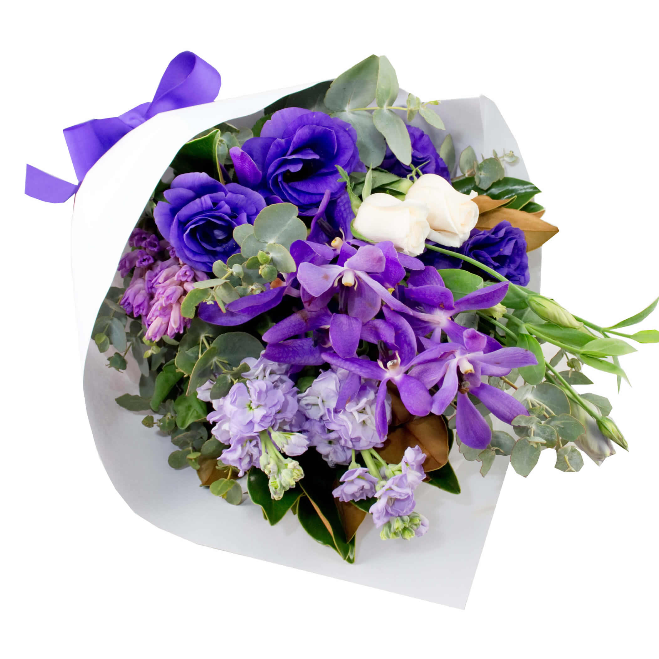 Perfect Purple Bouquet - The Flower Company