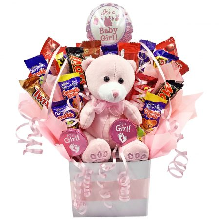 Ultimate Baby Girl Chocolate Bouquet