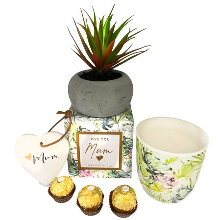 I-Love-you-mum-candle-and-plant